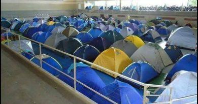 Área de camping é lugar de descanso